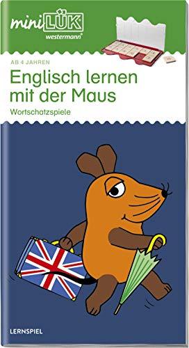 miniLÜK-Übungshefte: miniLÜK: Kindergarten/Vorschule - Englisch: Englisch lernen mit der Maus: Wortschatzspiele ab 4 (miniLÜK-Übungshefte: Kindergarten)