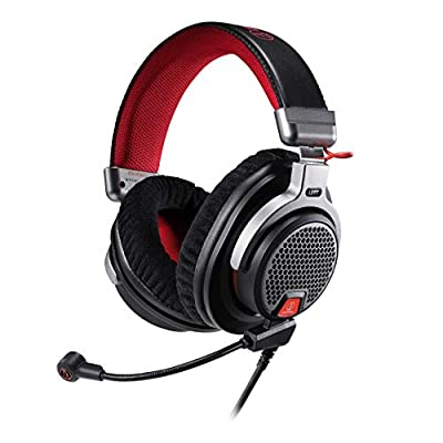 Audio-Technica ATH-PDG1a Premium Open-Air Gaming Headset with removable microphone