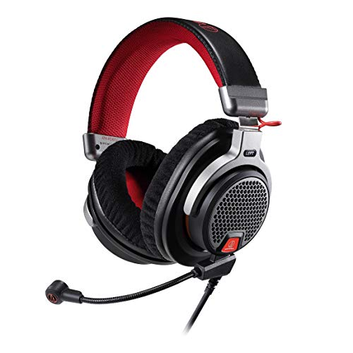 Audio-Technica ATH-PDG1a Premium Open-Air Gaming Headset met verwijderbare microfoon
