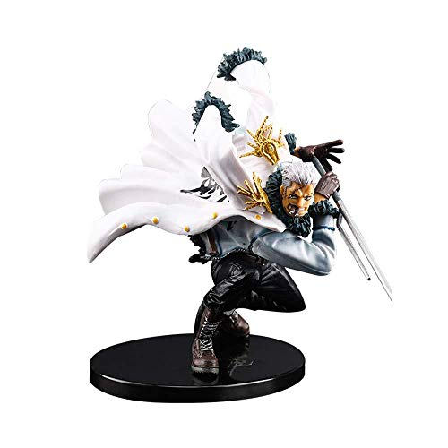 Generic One Piece Sumōkā Smoker Marine Colonel Figurine Collection Statue Decoration Fashion Gift Animated Character Model