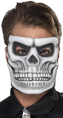 Fancy Me Skelett für Herren und Damen, mit beweglichem Kiefer, Halloween-Tag der Toten, Gruselkostüm, Kostüm, Kostüm-Accessoire