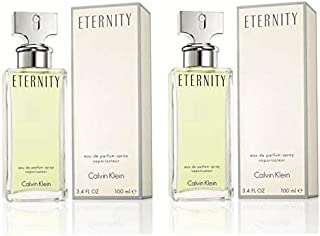Set Of 2 Ck Eternity Eau de Parfum for Women 100ml Each