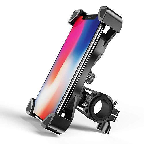 Fantigo Handyhalterung Fahrrad, Fahrrad Handyhalter Motorrad Silikon Universal 360°Drehbarem Fahrrad Handyhalterung für iPhone und Android(4.5-7.0 Zoll)
