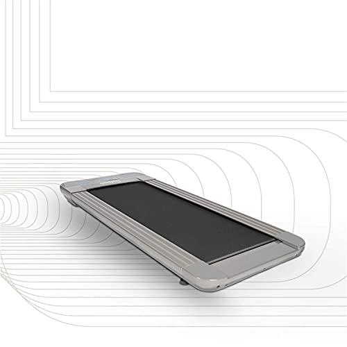 SportPlus Walking Laufband für zuhause & im Büro - Walking Pad bis 6 km/h (leiser Motor), ideal als Desk Laufband am Schreibtisch, kein Joggen möglich, bis 120 kg