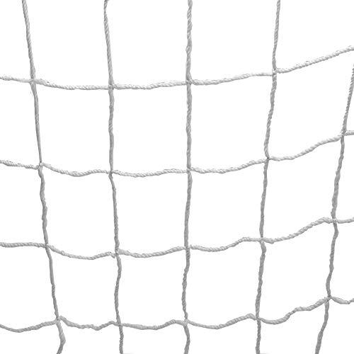 Wolfgo Rete da Porta - Rete da Calcio a grandezza Naturale Rete da Calcio Rete da Porta Sportiva Goal Post Net (6 * 4ft)