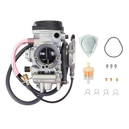 Carburetor Carb for ATV Yamaha 2000-2006 Kodiak 400 YFM400 & Big Bear 400, 2004-2006 Bruin 350, 2007-2011 Grizzly 350, 2007-2012 Grizzly 450, 2006-2009 Wolverine 350, 2007-2010 Wolverine 450