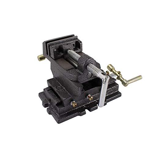 BONATE 3-Inch Drill Press X-Y Compound Vise 2 Way Heavy Duty Cross Slide Vise Clamp Machine
