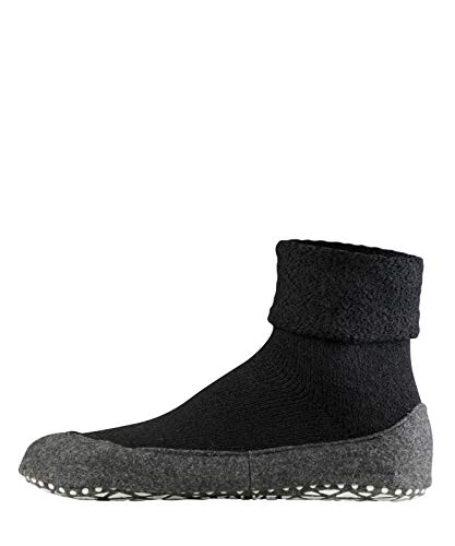 FALKE Men's Cosyshoe M HP Slipper Sock, Black (Black 3000), US 9.5-10.5 (EU 43-44 Ι UK 8.5-9.5)