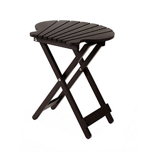 XUANLAN Simple Balcon Petite Table pin Table Pliante Portable Petite Table Basse Table à la Main (Color : Brown, Taille : 40*43CM)