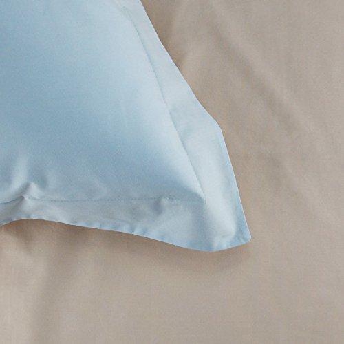 Bailet Taie d'oreiller - Régate, Coton, Sable, 50 x 70 cm