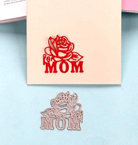 Snijsjabloon DIY Mes Knurling Machine Papier Machine Rose Handgemaakte Snijden Dies voor Kaart maken 4.4X4.2Cm