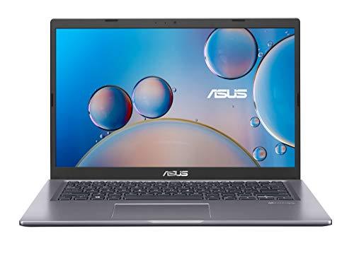 "ASUS F415JA-EB501T - Ordenador Portátil de 14"" Full HD (Intel Core i5-1035G1, 8GB RAM, 512GB SSD, Intel UHD Graphics, Windows 10 Home) Gris Pizarra-Teclado QWERTY español"