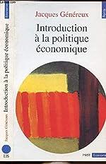 Introduction à la politique économique de Jacques Généreux