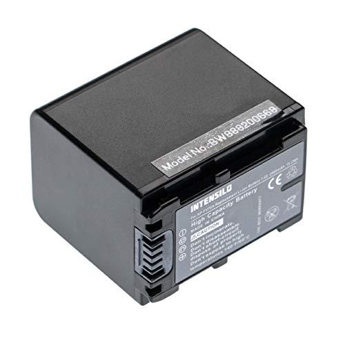 INTENSILO batteria compatibile con Sony FDR-AX33, FDR-AX40, FDR-AX45, FDR-AX53, FDR-AX60, FDR-AX700, FDR-AXP33 fotocamera digitale DSLR (2060mAh)