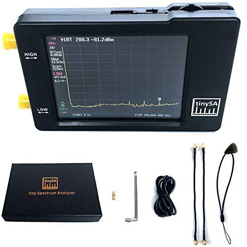 Binchil TinySA - Analizador de espectro portátil (2,8 pulgadas, pantalla con batería,...