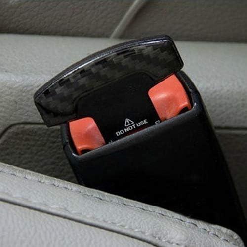 Periwinkluq Auto Sicherheitsgurte 2 Stück Sicherheitsschnalle Sicherheitsschnalle Sicherheitsgurtstopfen Universalverbinder Bajonett Sicherheit Mit Karteneinsatz Mehrfarbig Sport Freizeit
