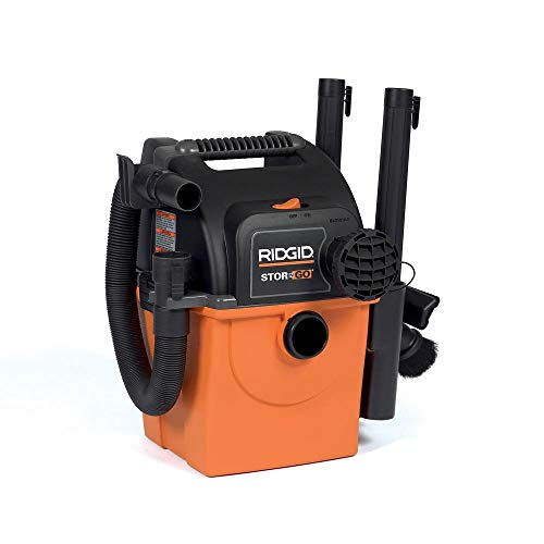 Check Out This RIDGID 5 gal. Stor-N-Go Wet/Dry Vac