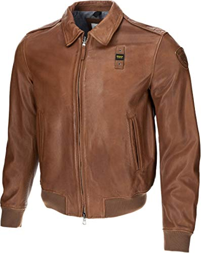Blauer USA Smith Giacca in pelle Marrone