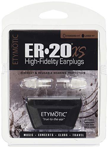 Etymotic ER20XS - Tappi per orecchie L trasparente