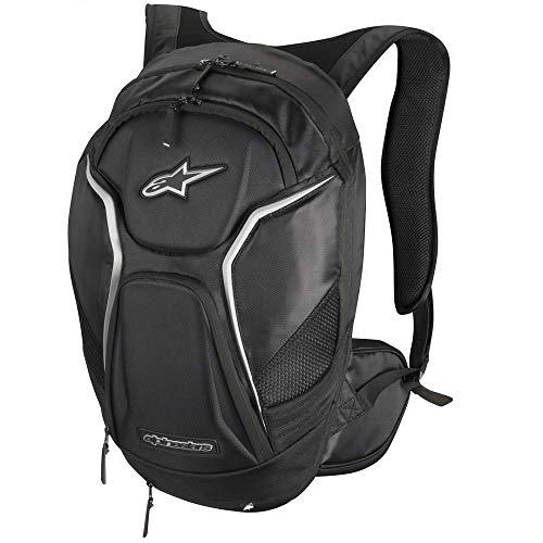 Alpinestars – Mochila Tech Aero, color negro y blanco