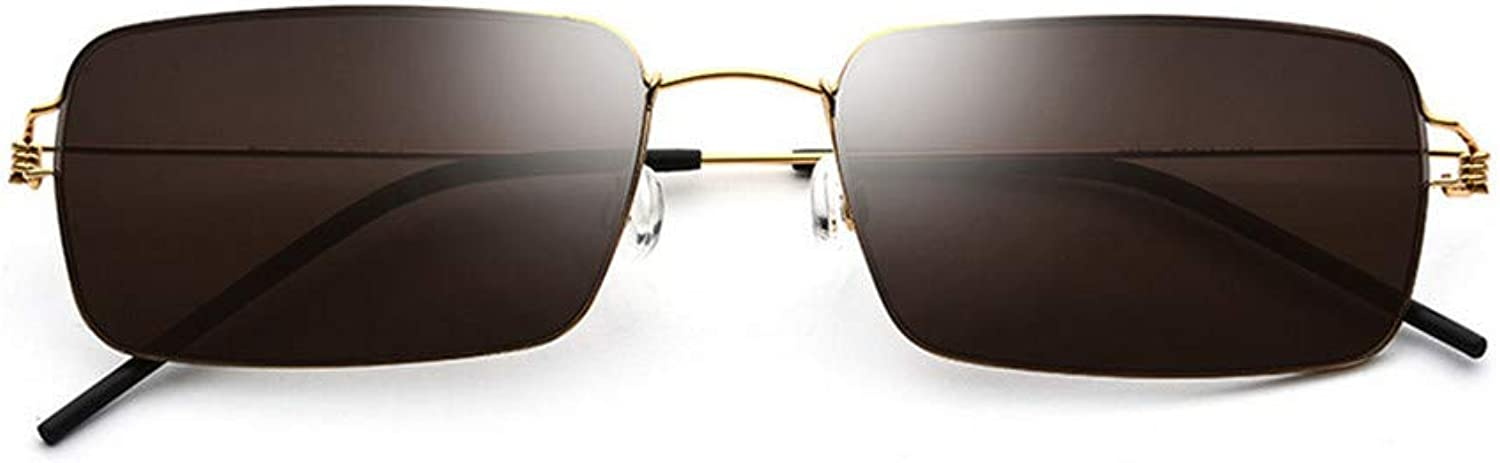 Sunglasses Ultra Light Men's Frameless Sunglasses Driving Mirror Frog Mirror Fashion Women's Sunglasses