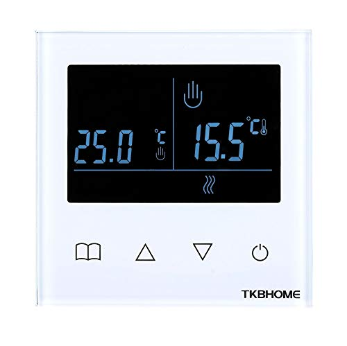 Termostato de pared conectado Z-Wave - TKB Home
