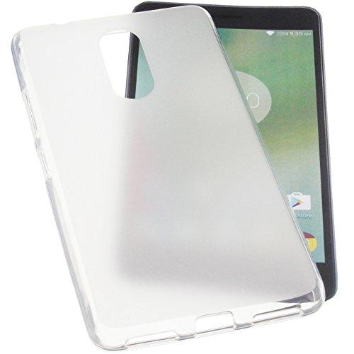 foto-kontor Tasche für Lenovo K6 Note Gummi TPU Schutz Handytasche transparent
