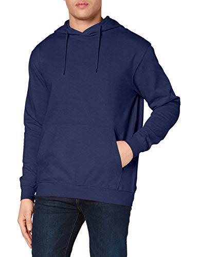 Stedman Apparel Hooded Sweatshirt/ST4100 Sweat-Shirt à Capuche, Bleu-Bleu Marine, XXX-Large Homme