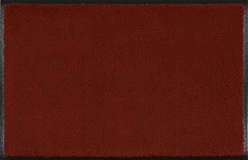 Wash+Dry Fußmatte Weinrot 60x90 cm