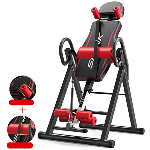 Best Deals! Robust Inversion Table Multifunctional Adjustable Inverted Machine Machine Back Muscles,...