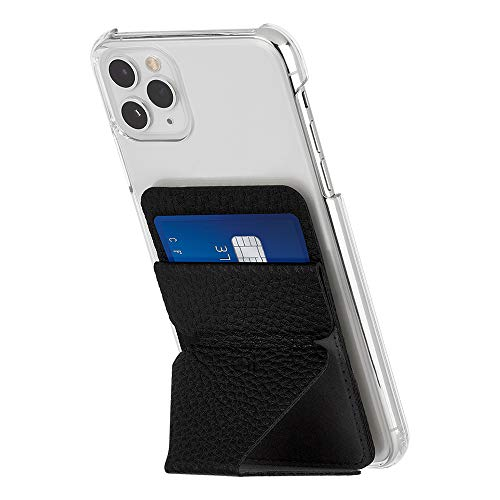Magnetic phone wallet and stand