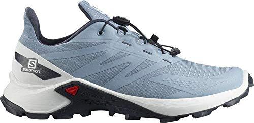 SALOMON Supercross Blast W, Zapatillas de Trail Running Mujer, Ashley Blue/White/Ebony, 40 EU