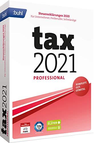 Preisvergleich Produktbild Buhl data service GmbH Tax 2021 Professional (für Steuerjahr 2020 / Standard Verpackung)