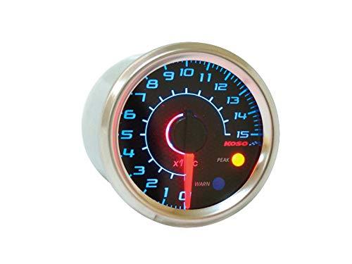Oferta termómetro Analógica Universal Cama Nido, Fondo Carbono,–¡C, espía Alarma Temperatura, retroiluminación Azul, diámetro de 48mm