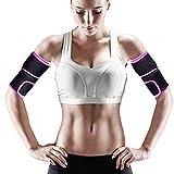 GROOFOO Arm Sweat Trimmers, Neoprene Arm Toner with Sauna Effect for Women Men