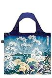 LOQI Museum Hokusai From Gotenyama Einkaufstasche / Reisetasche Reise-Henkeltasche, 50 cm, Mt. Fuji