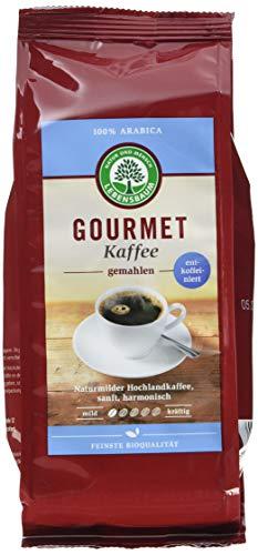 Lebensbaum Bio Gourmet Kaffee, entkoffeiniert, gemahlen (1 x 250 g)