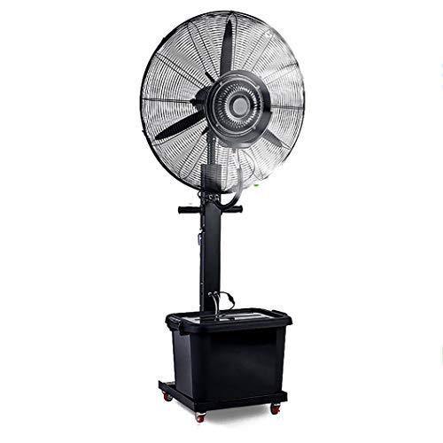 SYTH Nebel Ventilator, 2-Gang / 42L Wassertank Standventilator,für Outdoor Industrie Oscillating Sprühnebelventilator