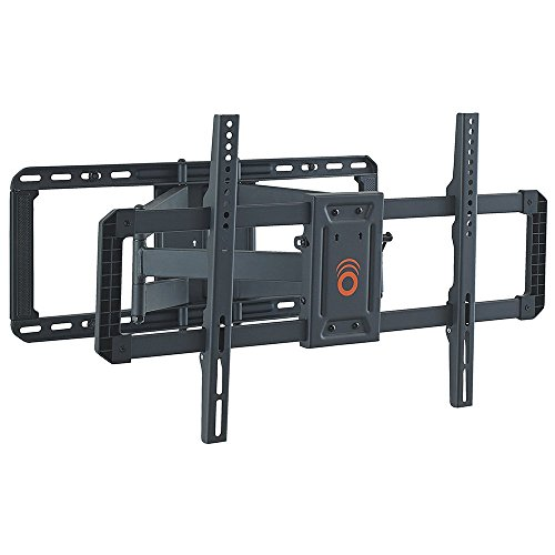 Photo of ECHOGEAR Full Motion Tilt and Swivel TV Wall Mount Bracket for most 42-80 inch LED, LCD, OLED, Curved and Plasma Flat Screen TVs w/VESA patterns up to 600 x 400-55.6 cm Extension – EGLF2-B2