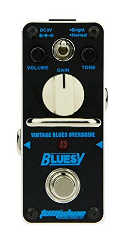 Tomsline ABY3 Bluesy Mini-Pedal, Overdrive blau