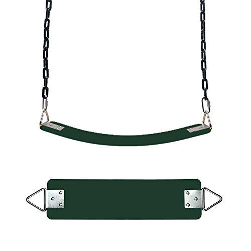 Elastischer Kinderschaukel Farbe EVA weichen Bord U-Schaukel Brettschaukel Schaukelsitz Schaukelbrett belastbar bis ca. 300Kg Spielplatz im Freien Schaukel