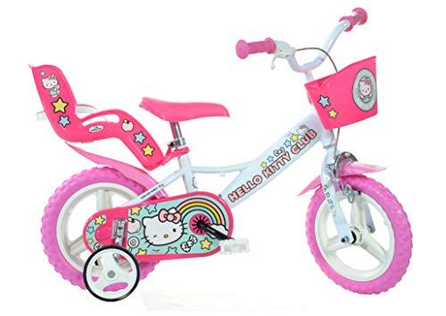 Dino Bikes Bicicleta Hello Kitty 124R-HK de 12 Pulgadas