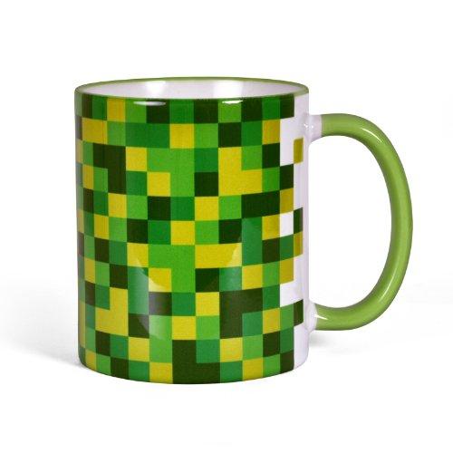 Taza de píxeles - para jugones y forofos del videojuego - impresa...