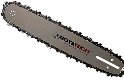 40 cm SWS Forst Schwert Set mit 4 S/ägeketten 3//8 55TG 1,3 mm passend f/ür Stihl MS231 MS 231
