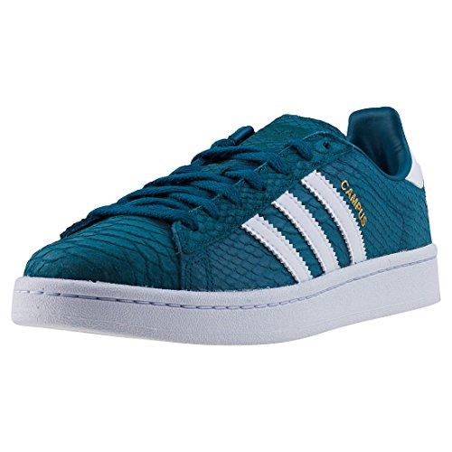 adidas Campus W, Scarpe da Fitness Donna, Blu (Petnoc/Ftwbla/Dormet 000), 38 2/3 EU