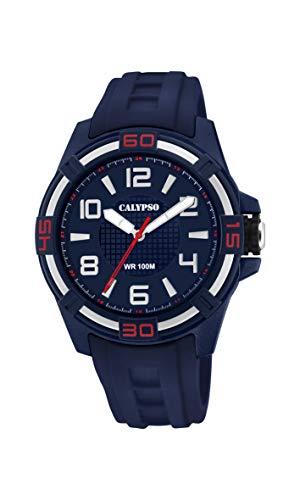 Calypso Reloj Analógico para Hombre de Cuarzo con Correa en Silicona K5760/2