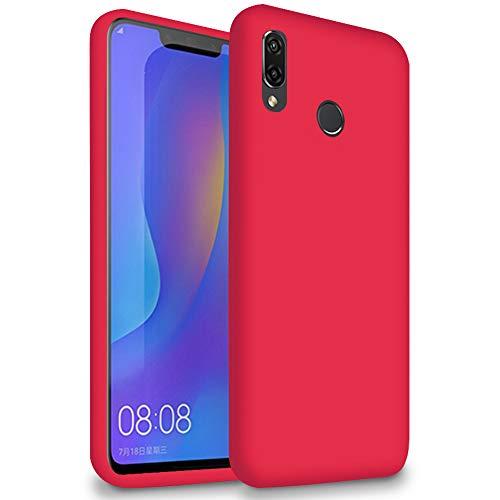 5.8 Funda Ligera para Huawei Honor Play   Bumper  TPU en Rojo   Resistente