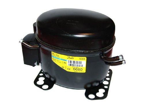 Danfoss FR-7.5 G - Compresor (para refrigerante R134a, cilindrada de 6,93 cm3)
