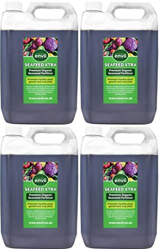 Envii Seafeed Xtra – Premium bioaktiver Seetang-Flüssigdünger und Wachstumsbeschleuniger (20L)