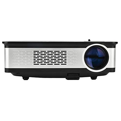 QUWN kwaliteit hoofdprojector 5,8 inch LCD-technologie 300 ANSI lumen HD 1280 * 768 pixels projector met afstandsbediening VGA HDMI